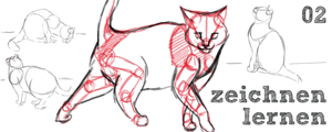 Katzen zeichnen