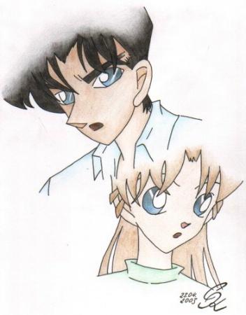 FanArt: Heiji und Ran