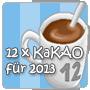 Logo: 12x KakAO für 2013