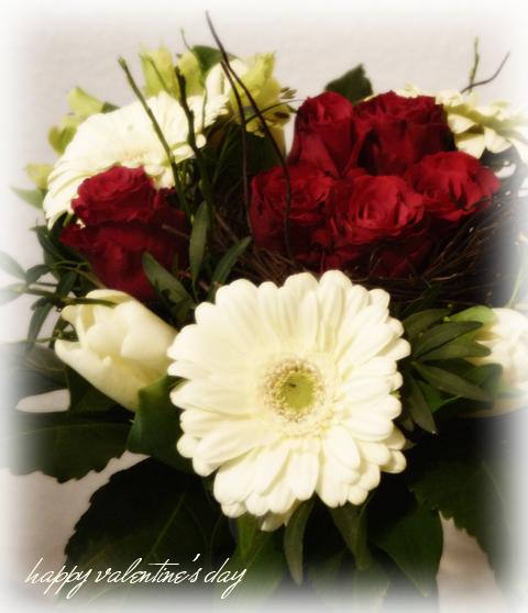 Meine Blumen zum Valentinstag
