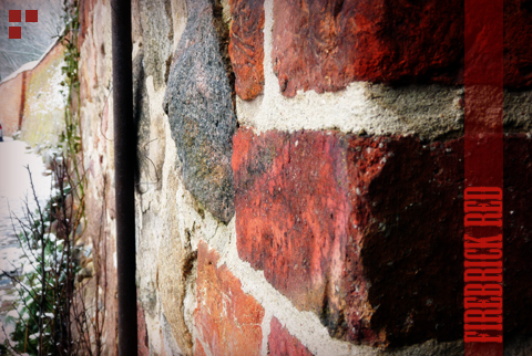 Color me happy: Firebrick Red