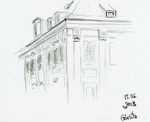 Skizze aus Görlitz