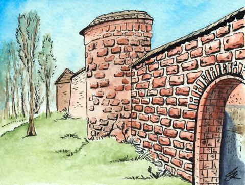 Wittstocker Ansichten 3: Stadtmauer