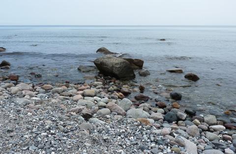 Am Meer am Kap Arkona