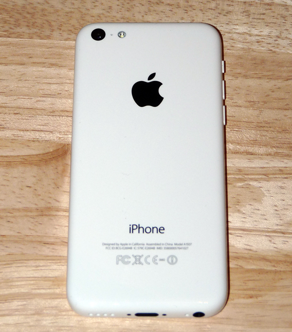 iPhone 5C Back