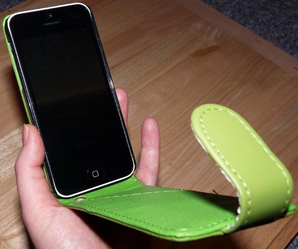 Flipcase für iPhone 5C