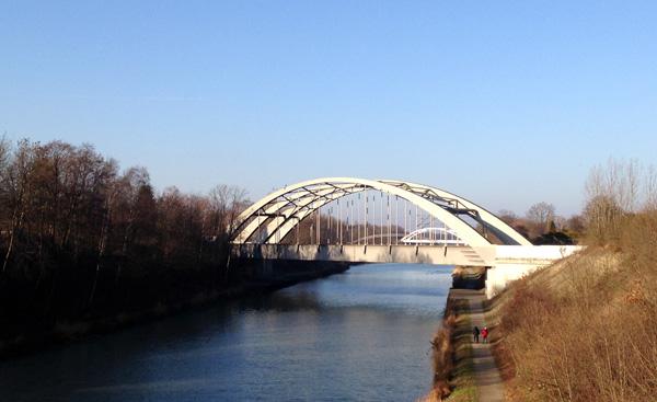 Brücken über den Mittellandkanal