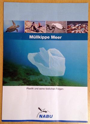 Flyer: Müllkippe Meer