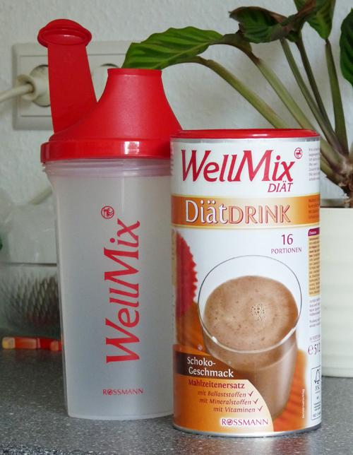 Wellmix Diät Drink mit Mixbecher
