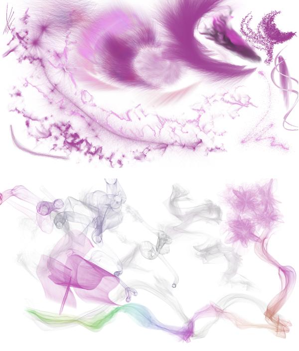 Partikel Effekte Painter 2015
