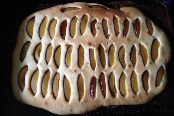 Kuchen frisch aus dem Ofen