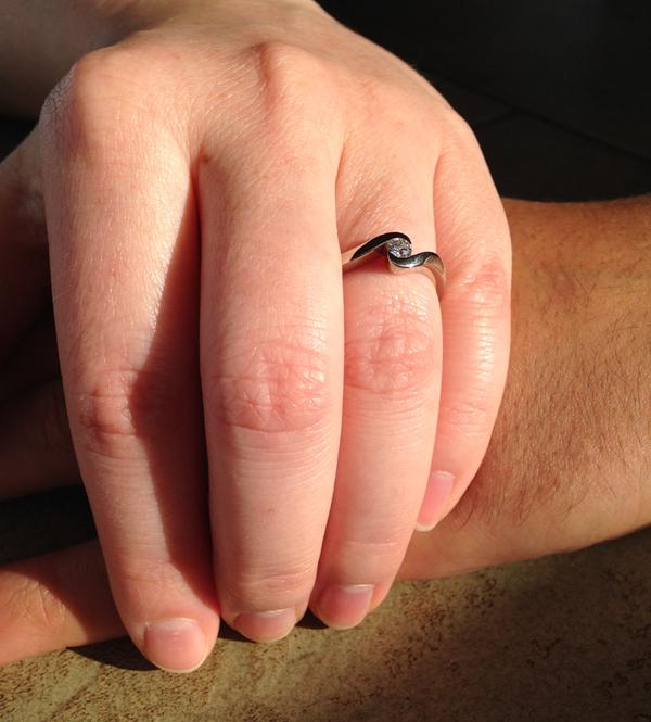 Frisch verlobt
