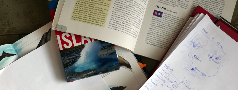 Recherche über Wale in Island
