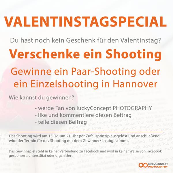 Verlosung für Paar-Shooting in Hannover