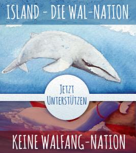 Island - Die Wal-Nation unterstützen