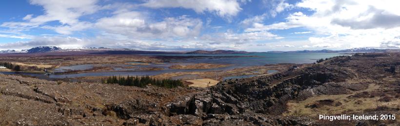 Þingvellir; Iceland; 2015