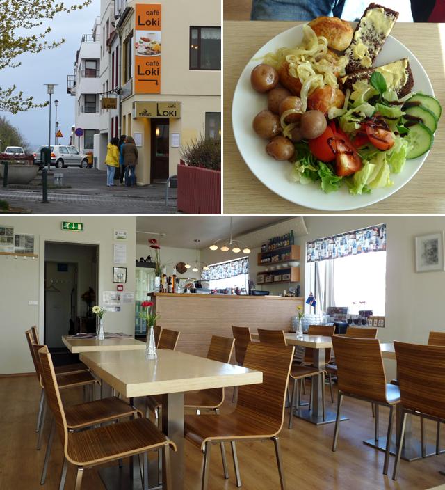 Café Loki unweit von der Hallgrímskirkja