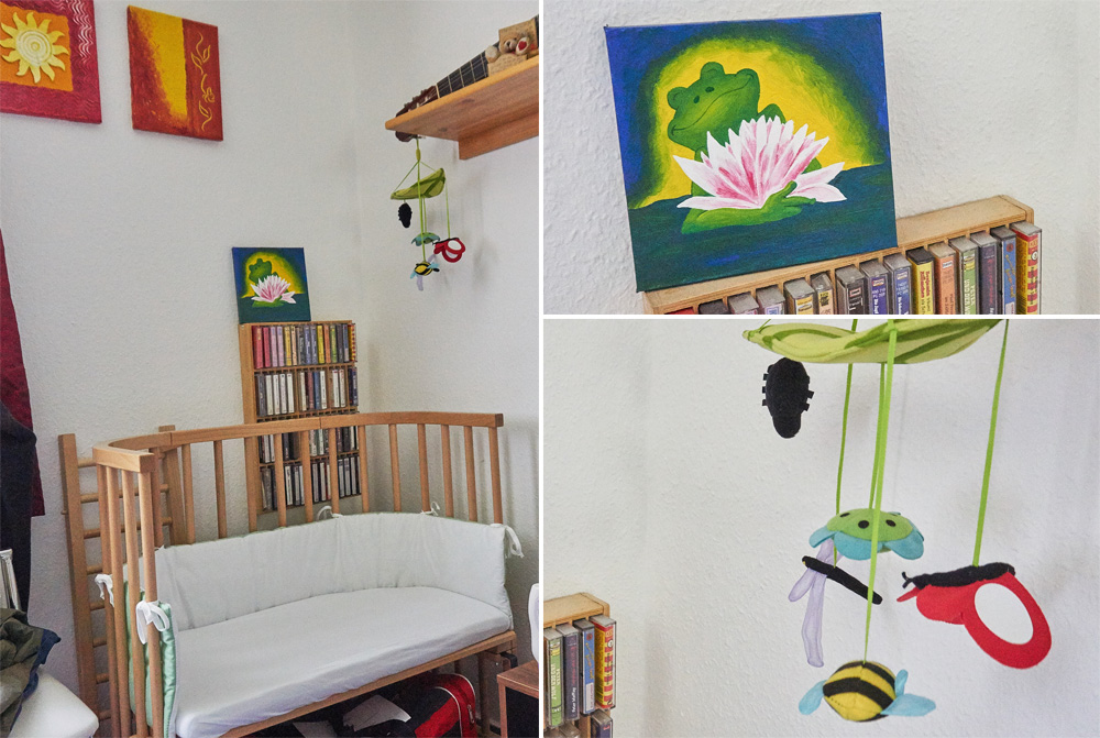 Babyecke im Schlafzimmer statt Babyzimmer